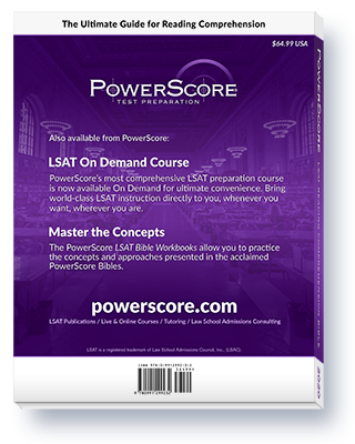The PowerScore 2020 LSAT Reading Comprehension Bible for the Digital LSAT Thumbnail