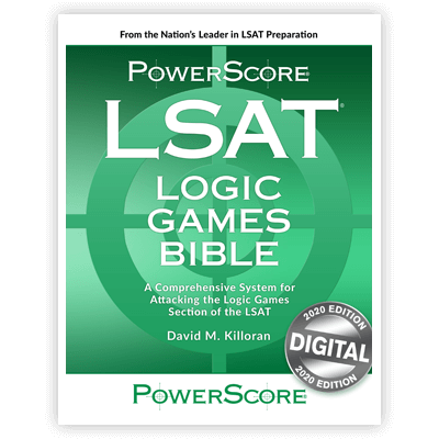 The PowerScore 2020 LSAT Logic Games Bible for the Digital  LSAT