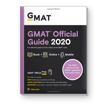 GMAT® Official Guide 2020
