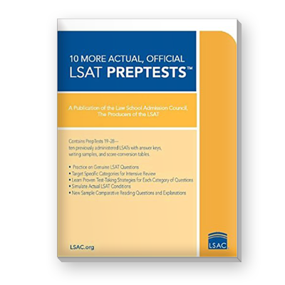 10 actual official lsat preptests
