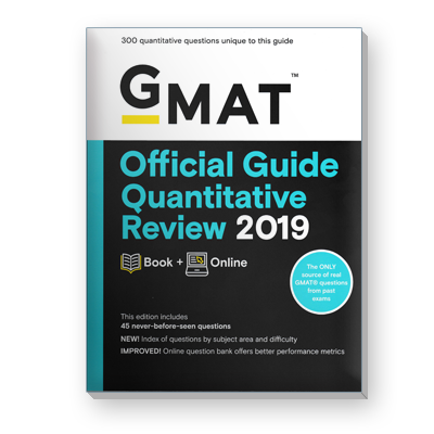 GMAT® Official Guide Quantitative Review 2019