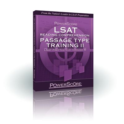 PowerScore's LSAT Reading Comprehension Passage Type Training Volume 2 Thumbnail