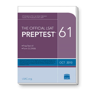 Prep Test 61 (October 2010 LSAT)