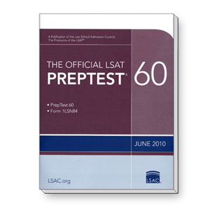 Prep Test 60 (June 2010 LSAT)