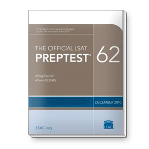 Prep Test 62 (December 2010 LSAT)