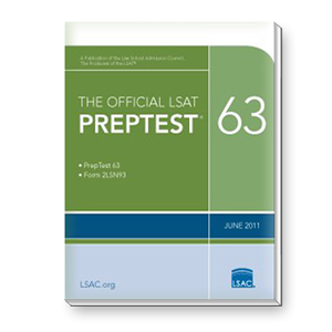 Prep Test 63 (June 2011 LSAT)