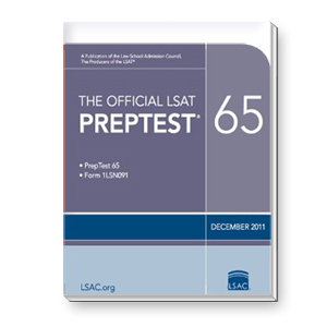 Prep Test 65 (December 2011 LSAT)